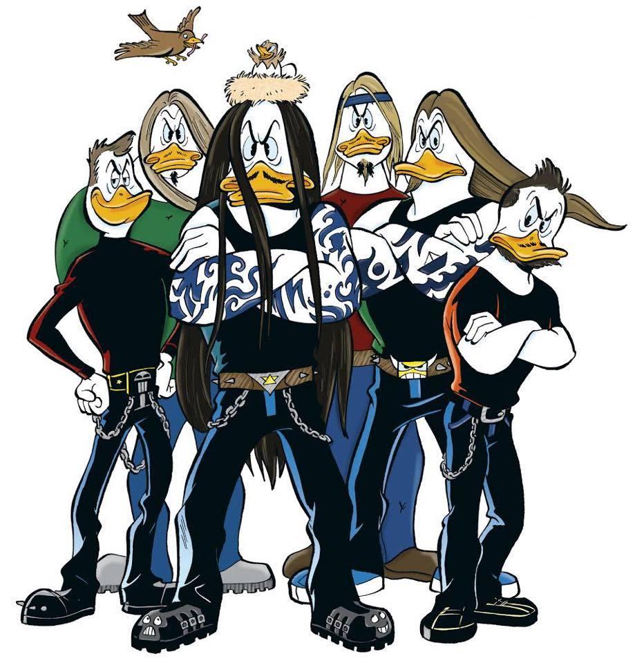 Amorphis、Stam1na、Battle Beastのメンバーがドナルドダックのキャラクターに_b0233987_00045531.jpg