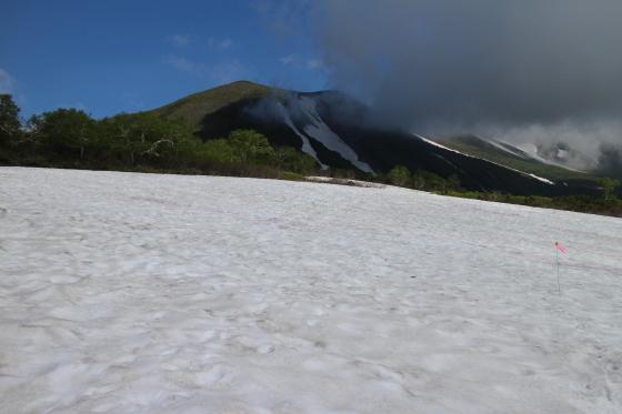 雪渓残る緑岳へ!_d0198793_11351035.jpg