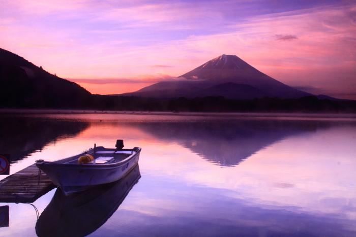 令和元年6月の富士(19)精進湖の朝の富士_e0344396_19010994.jpg