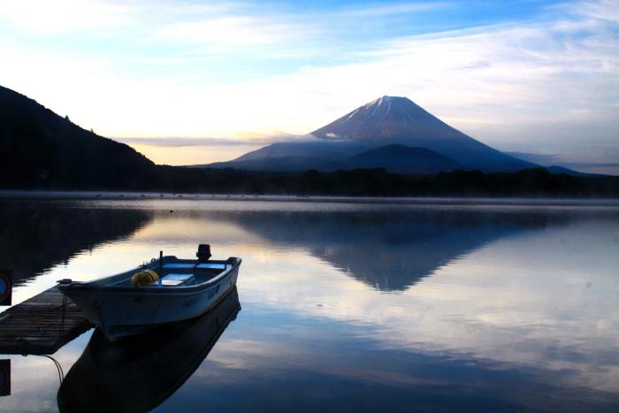 令和元年6月の富士(19)精進湖の朝の富士_e0344396_19011728.jpg