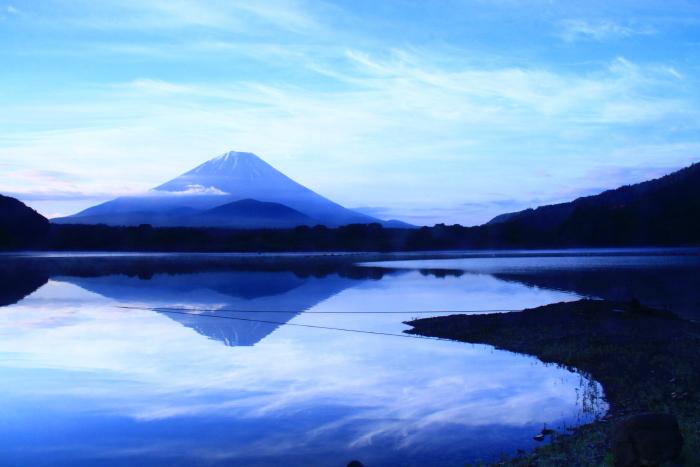 令和元年6月の富士(19)精進湖の朝の富士_e0344396_19012636.jpg