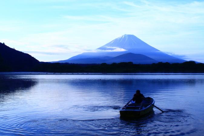 令和元年6月の富士(19)精進湖の朝の富士_e0344396_19013375.jpg