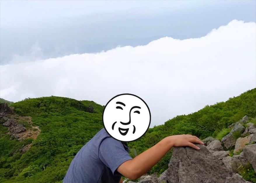 """【ただの雑記】簡単に""""雲の上""""に行く方法(岩木山)_f0205396_19452087.jpg"""