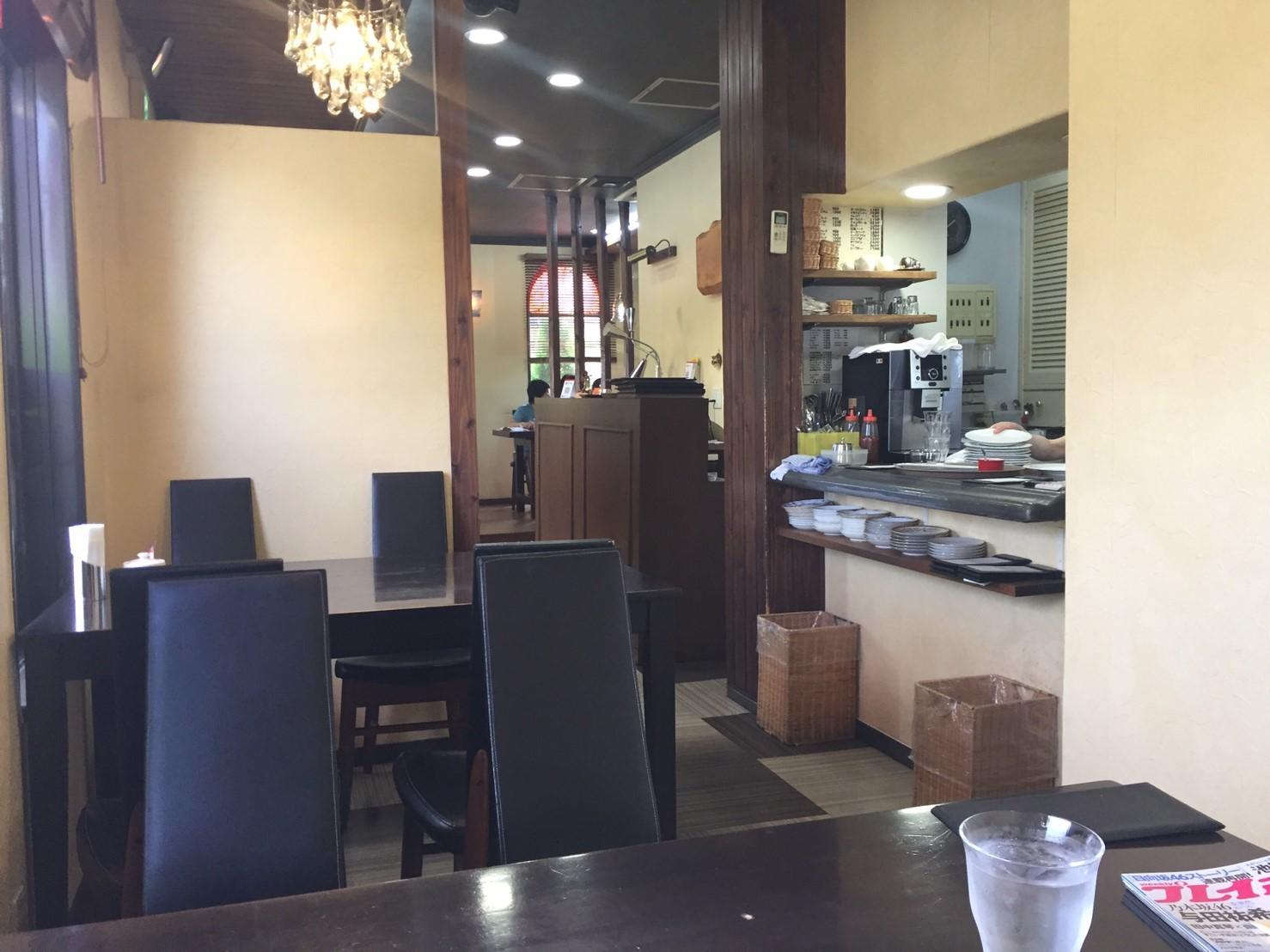 cafe & restaurant アンドリュース 日替わりランチ  ラス1和風ハンバーグ_e0115904_19344070.jpg
