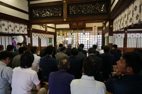 安全祈願祭と令和元年度長和会、長坂組互助会定期総会_d0095305_13255086.jpg