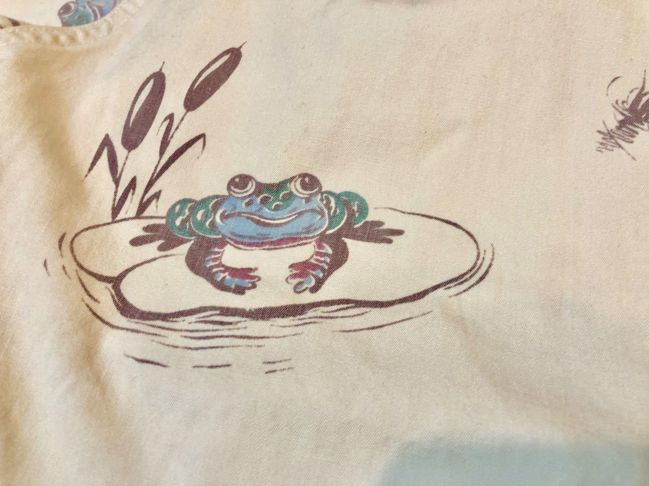 6月29日(土)入荷!レア 40s all cotton FROG (カエル)プリント ツイル シャツ!_c0144020_14155715.jpg