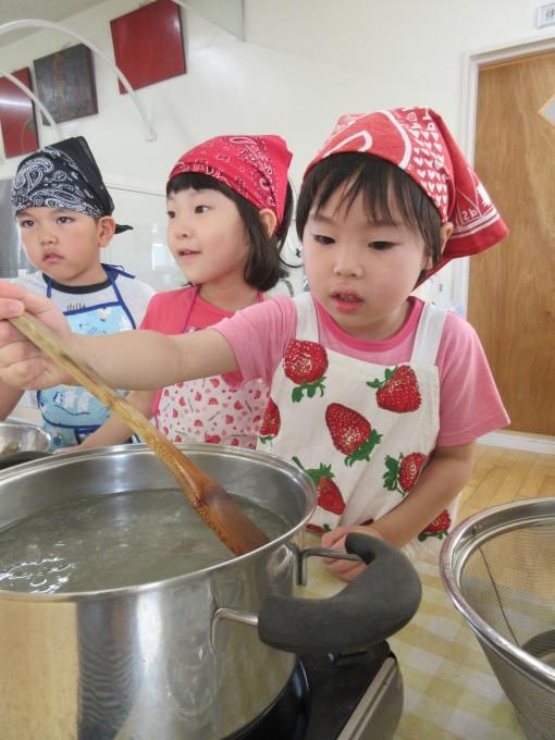 4・5歳 お泊り保育と夕涼み会_b0117125_14132916.jpg