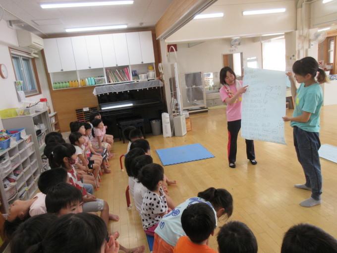 4・5歳 お泊り保育と夕涼み会_b0117125_14233552.jpg