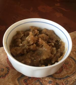 塩麹鶏の梅煮、と梅佃煮_f0101128_09412790.jpg