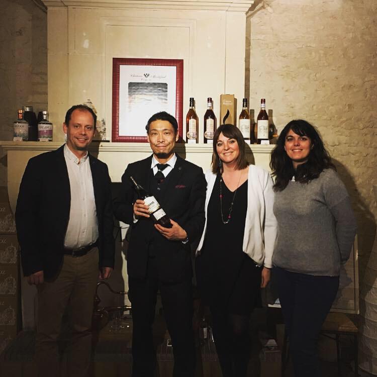 再開封Cognac Château de Montifaud L50と今秋にリリース予定のオリジナルコニャック_d0011635_16334097.jpg