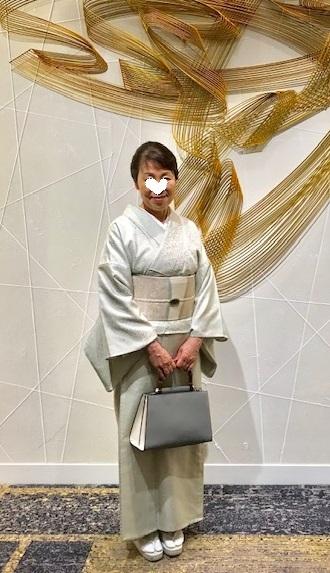 ファッションカンタータParty・単衣御召色無地まいづる夏帯_f0181251_18222272.jpg