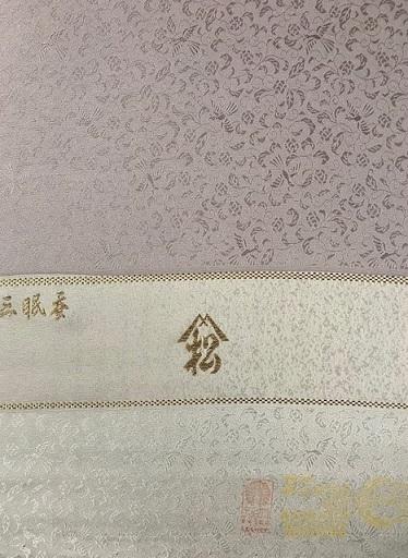 ファッションカンタータParty・単衣御召色無地まいづる夏帯_f0181251_18385574.jpg