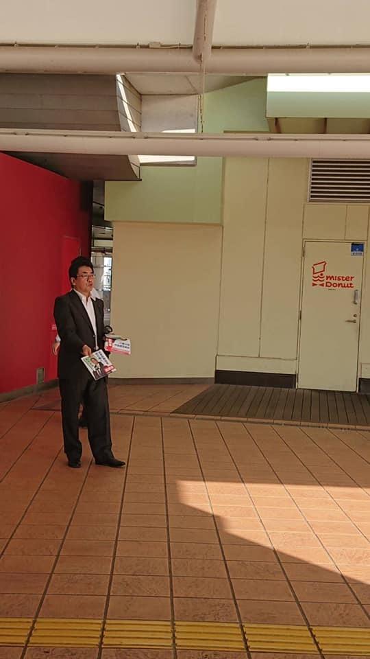 豊田俊郎駅頭そして_b0116758_07441802.jpg