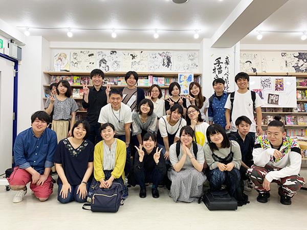 東京造形大学 カイシゼミナール課外授業@ナルティス_c0048265_21342494.jpg