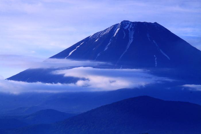 令和元年6月の富士(20)大室山の雲と富士_e0344396_18155205.jpg