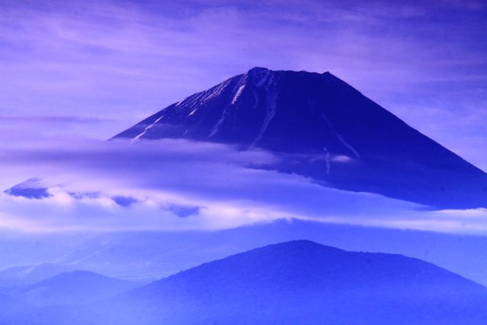 令和元年6月の富士(20)大室山の雲と富士_e0344396_18160040.jpg