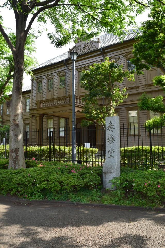東京上野の旧東京音楽学校奏楽堂(明治モダン建築探訪)_f0142606_04400280.jpg