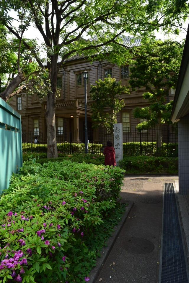 東京上野の旧東京音楽学校奏楽堂(明治モダン建築探訪)_f0142606_04510212.jpg