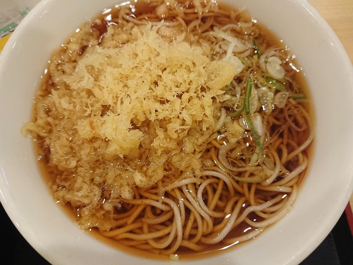 6/29  朝食セット (納豆) ¥420 @ 生蕎麦いろり庵きらく_b0042308_13594496.jpg