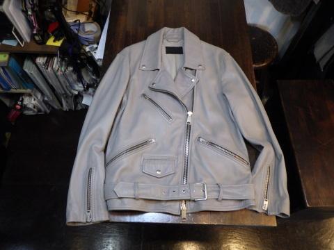 ライダースジャケット、袖丈上げ、身頃詰めなど。_a0098324_11052410.jpg