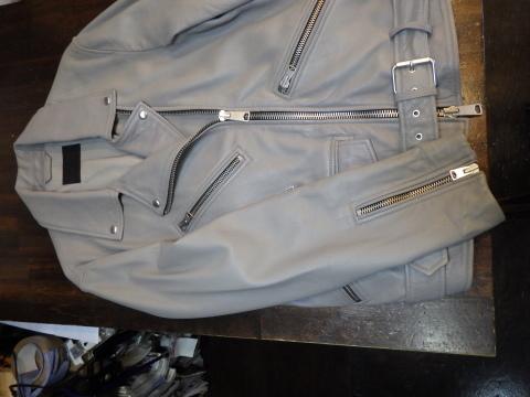 ライダースジャケット、袖丈上げ、身頃詰めなど。_a0098324_11054279.jpg
