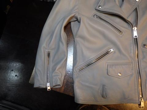 ライダースジャケット、袖丈上げ、身頃詰めなど。_a0098324_11063625.jpg
