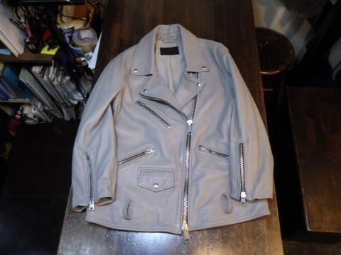 ライダースジャケット、袖丈上げ、身頃詰めなど。_a0098324_11064375.jpg