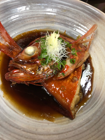 金目鯛の煮付け_b0099226_14044092.jpg