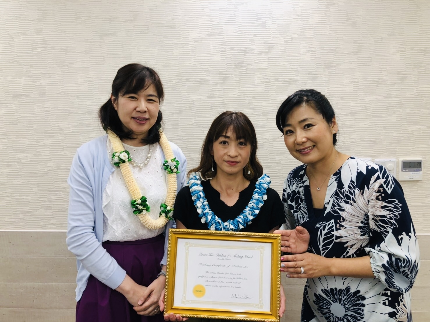 Kumikoさんがサティフィケートを 取得されました!_c0196240_16111666.jpeg
