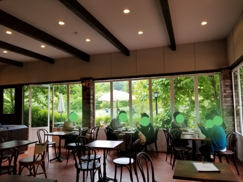 トップローズシーズンの軽井沢レイクガーデン * Elevenses Tea Roomsのランチ♪_f0236260_12132853.jpg