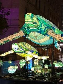 Akira Isogawa Exhibition と 光の祭典 Vivid Sydney_b0189862_22351520.jpg