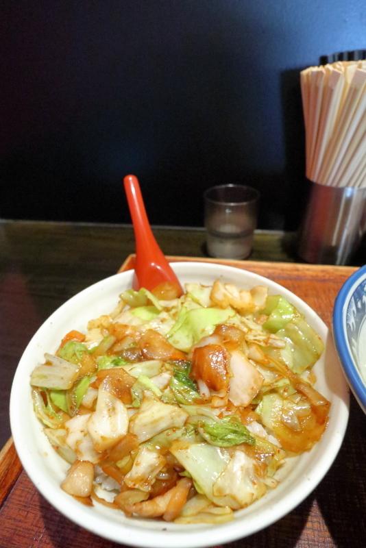 らー麺亭 高須店で、四川丼を食べる_a0077663_16024904.jpg