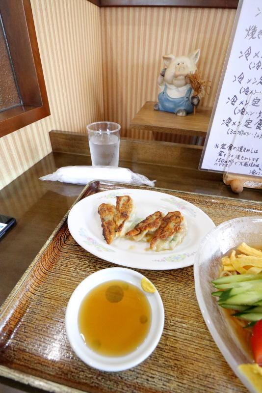 ラーメン天馬で、冷麺を食べる_a0077663_16485963.jpg