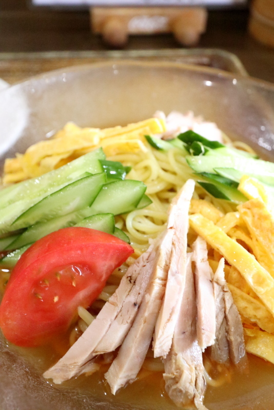 ラーメン天馬で、冷麺を食べる_a0077663_16490259.jpg