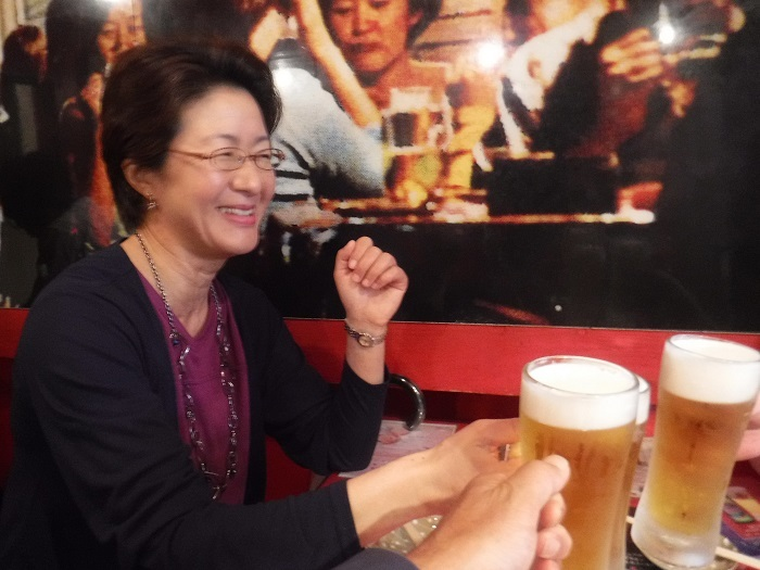 ◆送別はしご酒 ~宮古へ行く人を天神橋で見送る♪~_f0238779_12553233.jpg