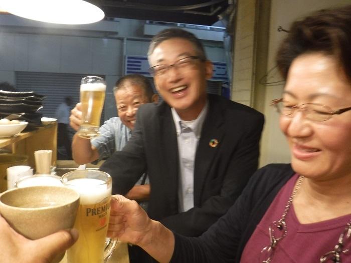 ◆送別はしご酒 ~宮古へ行く人を天神橋で見送る♪~_f0238779_13044777.jpg
