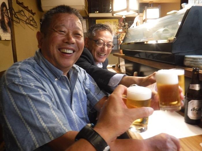 ◆送別はしご酒 ~宮古へ行く人を天神橋で見送る♪~_f0238779_13064764.jpg