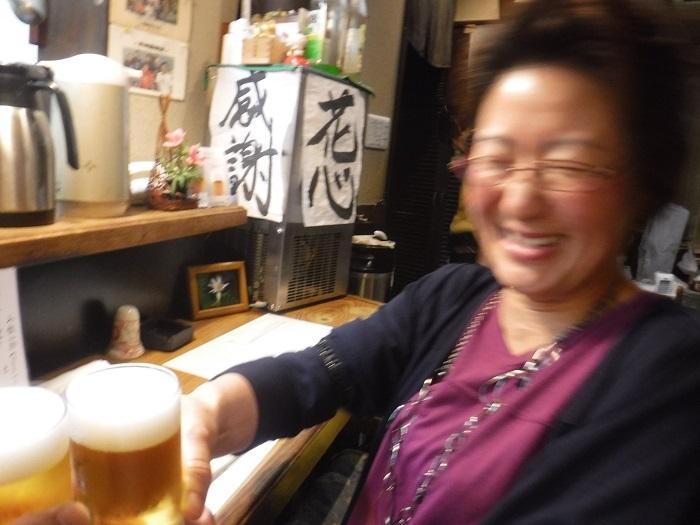 ◆送別はしご酒 ~宮古へ行く人を天神橋で見送る♪~_f0238779_13065815.jpg