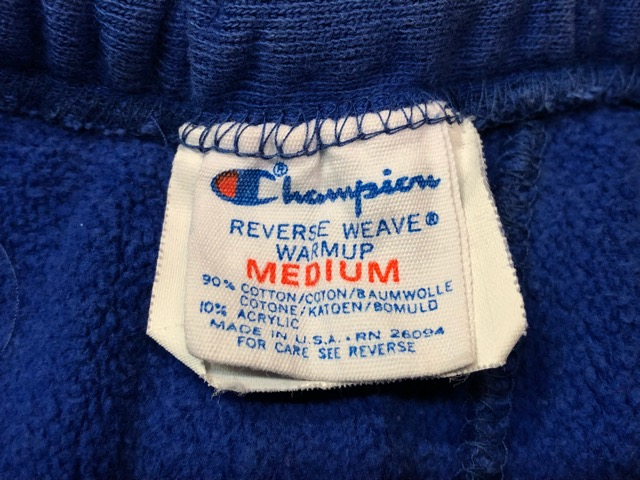 "\""Champion\"" SweatPants!!(マグネッツ大阪アメ村店)_c0078587_1947460.jpg"