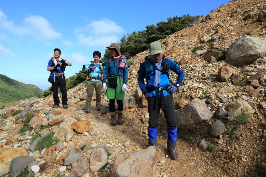 富良野岳、三峰山と上富良野岳、2019.6.24ー同行者からの写真ー_f0138096_23430012.jpg