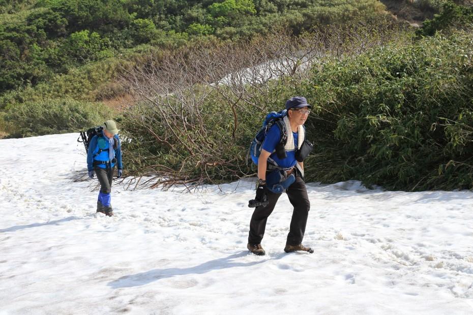 富良野岳、三峰山と上富良野岳、2019.6.24ー同行者からの写真ー_f0138096_23430381.jpg