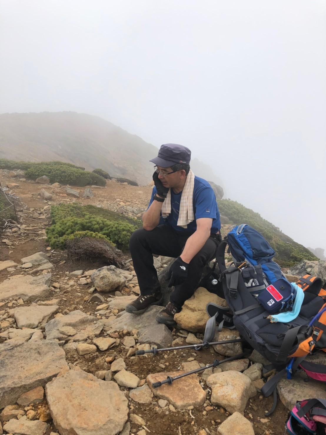 富良野岳、三峰山と上富良野岳、2019.6.24ー同行者からの写真ー_f0138096_23445448.jpg
