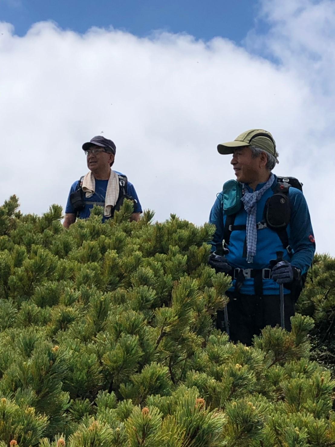 富良野岳、三峰山と上富良野岳、2019.6.24ー同行者からの写真ー_f0138096_23445715.jpg