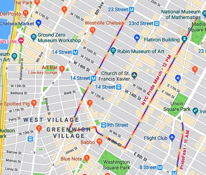 Google Mapで、NYのパレードのコース、確認できます_b0007805_23030405.jpg