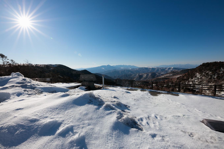 3歳5歳ちびっ子兄弟のスノーハイキング「美ヶ原高原」_c0369219_15445940.jpg