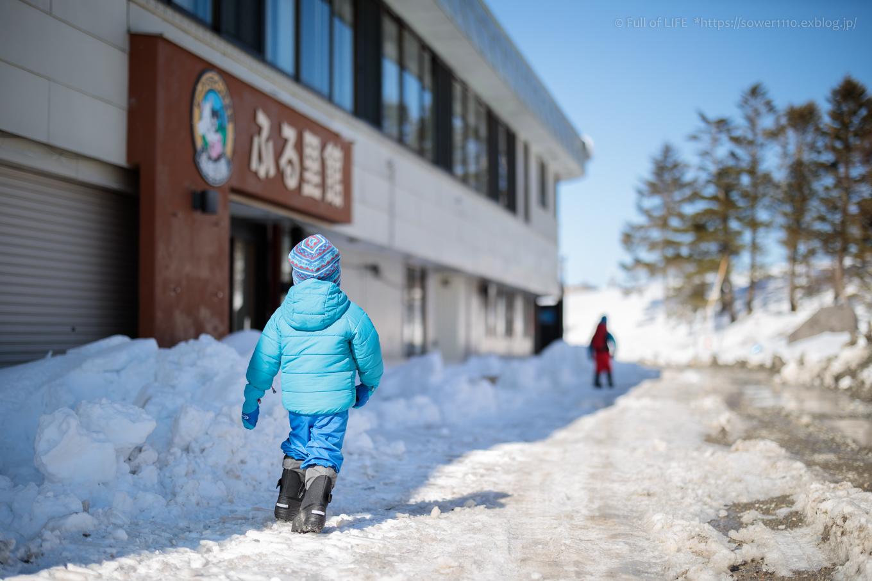 3歳5歳ちびっ子兄弟のスノーハイキング「美ヶ原高原」_c0369219_16173097.jpg