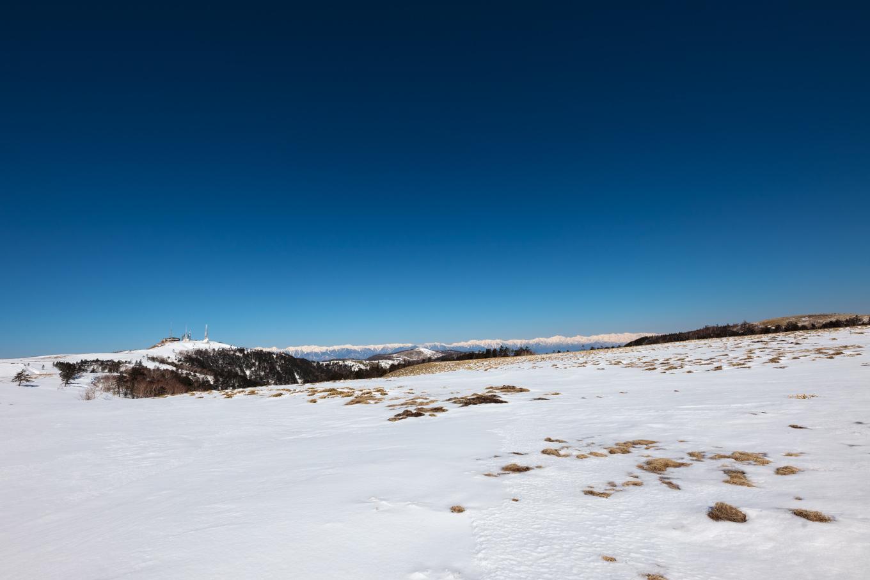 3歳5歳ちびっ子兄弟のスノーハイキング「美ヶ原高原」_c0369219_16582485.jpg