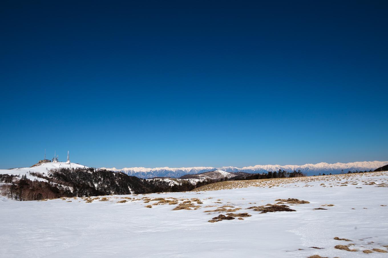 3歳5歳ちびっ子兄弟のスノーハイキング「美ヶ原高原」_c0369219_17031586.jpg