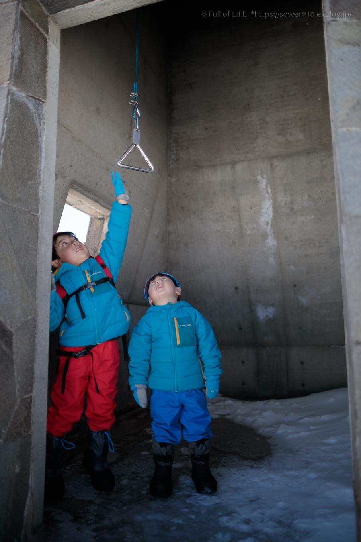 3歳5歳ちびっ子兄弟のスノーハイキング「美ヶ原高原」_c0369219_17455696.jpg