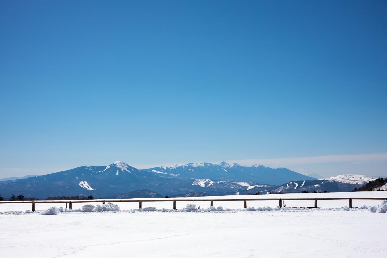 3歳5歳ちびっ子兄弟のスノーハイキング「美ヶ原高原」_c0369219_17471343.jpg